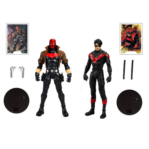"Image of DC - Nightwing vs Red Hood 7"" Action Figure 2-pack"