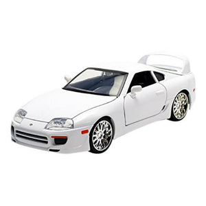 Fast and Furious Brian's Toyota Supra Gloss White 1:24