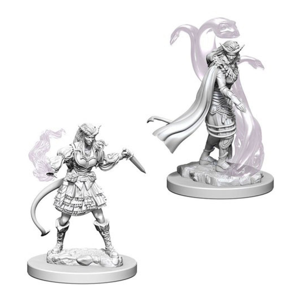 Dungeons And Dragons Unpainted Minis Tiefling Female Sorcerer