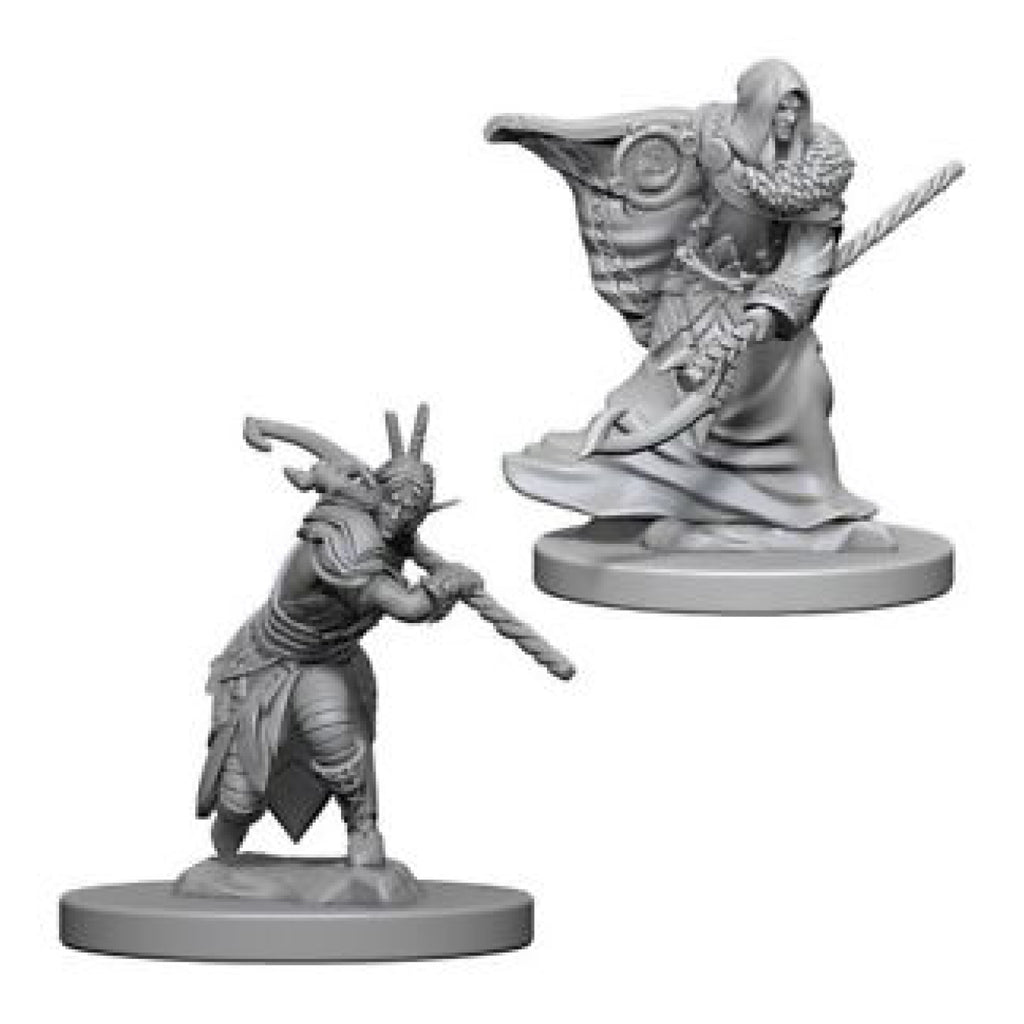 Dungeons And Dragons Unpainted Minis Elf Male Druid