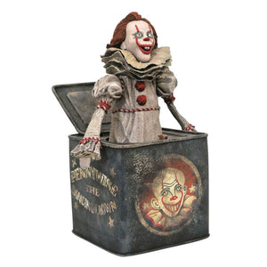 It: Chapter 2 - Pennywise in a box Gallery PVC Statue