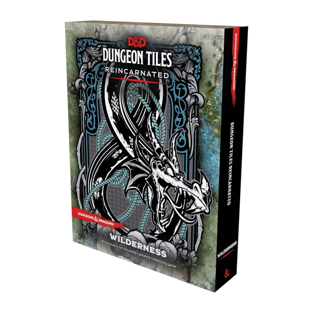 Dungeons And Dragons Dungeon Tiles Reincarnated Wildernes
