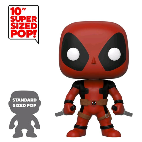 "Deadpool - Two Swords Red US Exclusive 10"" Pop! Vinyl [RS]"
