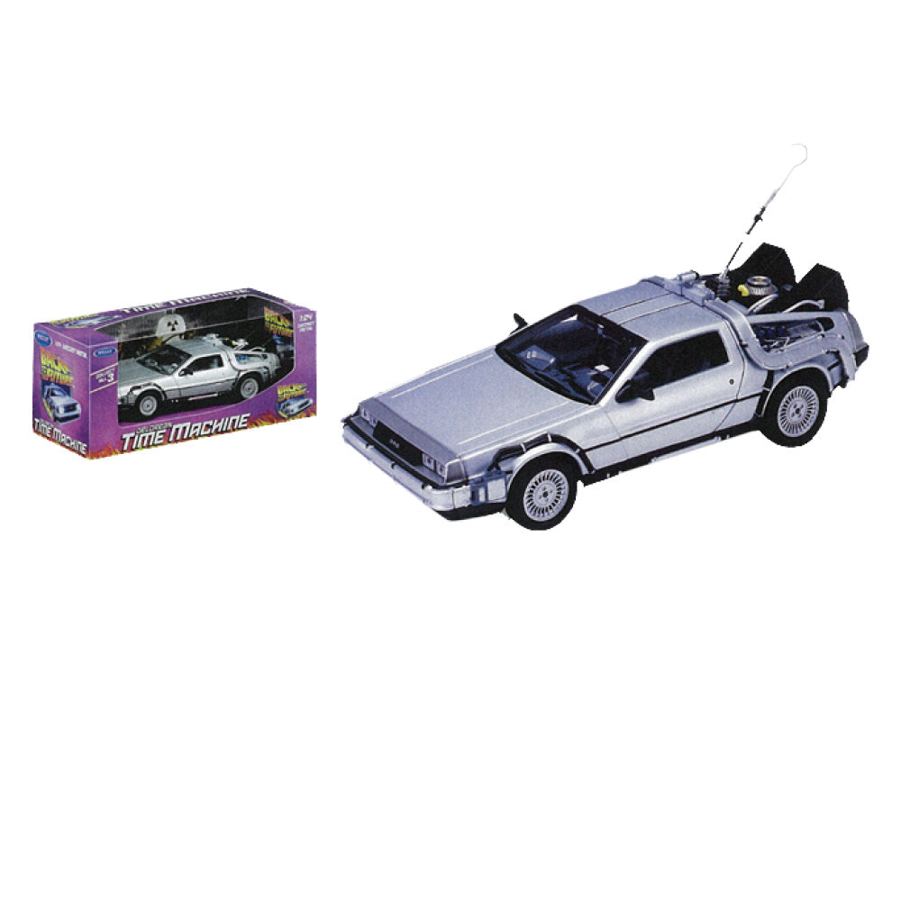 Back to the Future - 1:24 Scale Die-Cast DeLorean Replica
