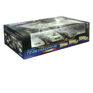 Back To The Future 1/24 scale Die Cast 3 Pack
