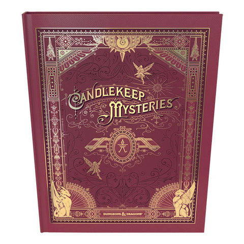 Dungeons & Dragons Candlekeep Mysteries Book HOBBY ONLY
