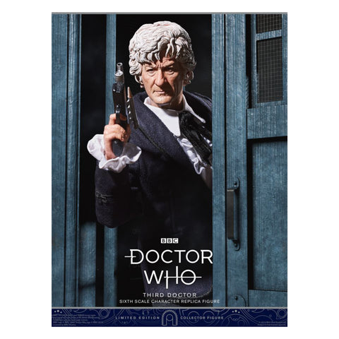 "Doctor Who - Third Doctor 1:6 Scale 12"" Action Figure"