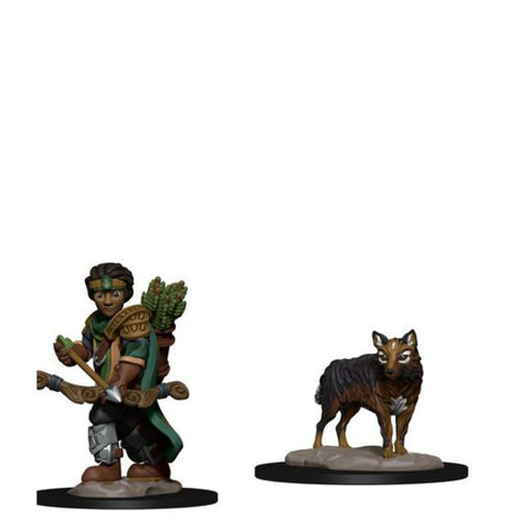Image of Wardlings - Boy Ranger & Wolf Pre-Painted Minis