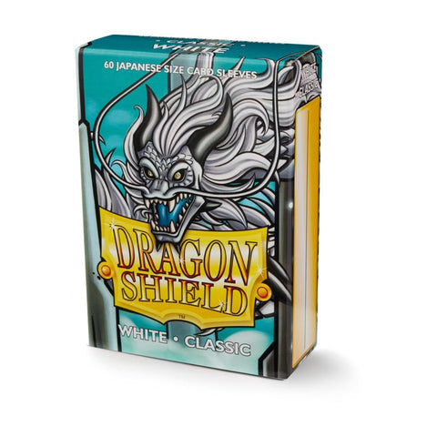 Dragon Shield Sleeves- Box 60 Classic White