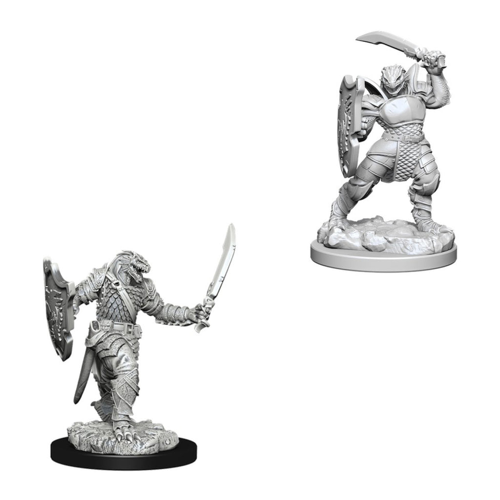 Dungeons And Dragons Unpainted Minis Dragonborn Female Paladin