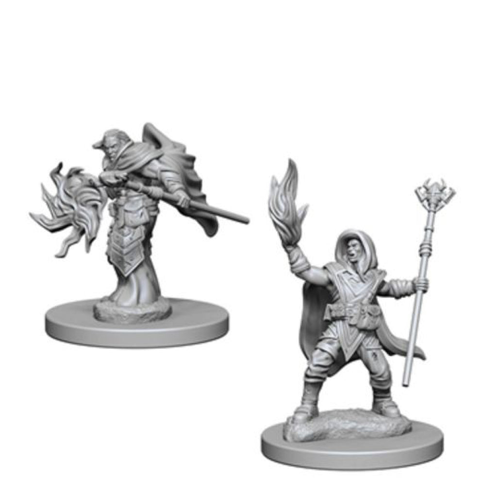 Dungeons And Dragons Unpainted Minis Elf Male Wizard
