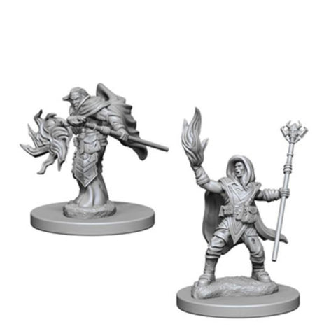 Image of Dungeons And Dragons Unpainted Minis Elf Male Wizard