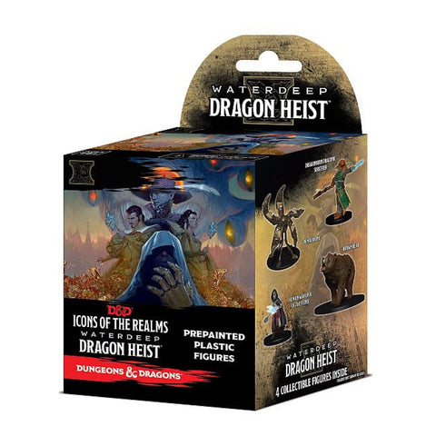 Dungeons And Dragons Icons of the Realms Set 9 Waterdeep Dragon Heist Booster