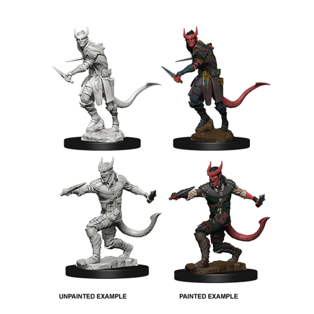 Dungeons And Dragons Unpainted Minis Tiefling Male Rogue
