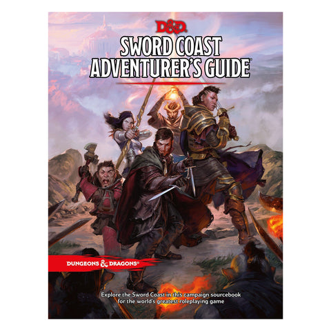 Dungeons And Dragons Sword Coast Adventurers Guide
