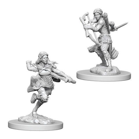 Image of Dungeons And Dragons Unpainted Minis Air Genasi Female Rogue