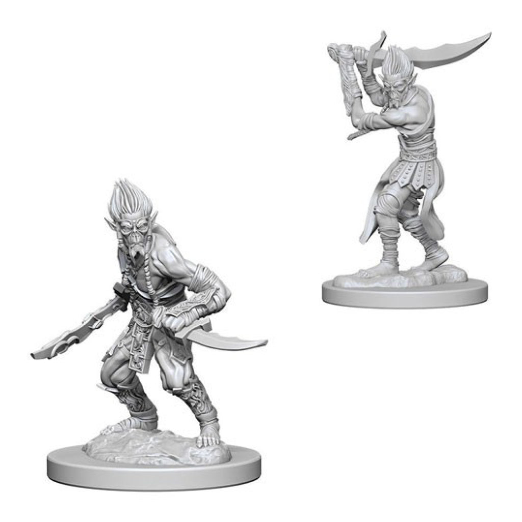 Dungeons And Dragons Unpainted Minis Githyanki
