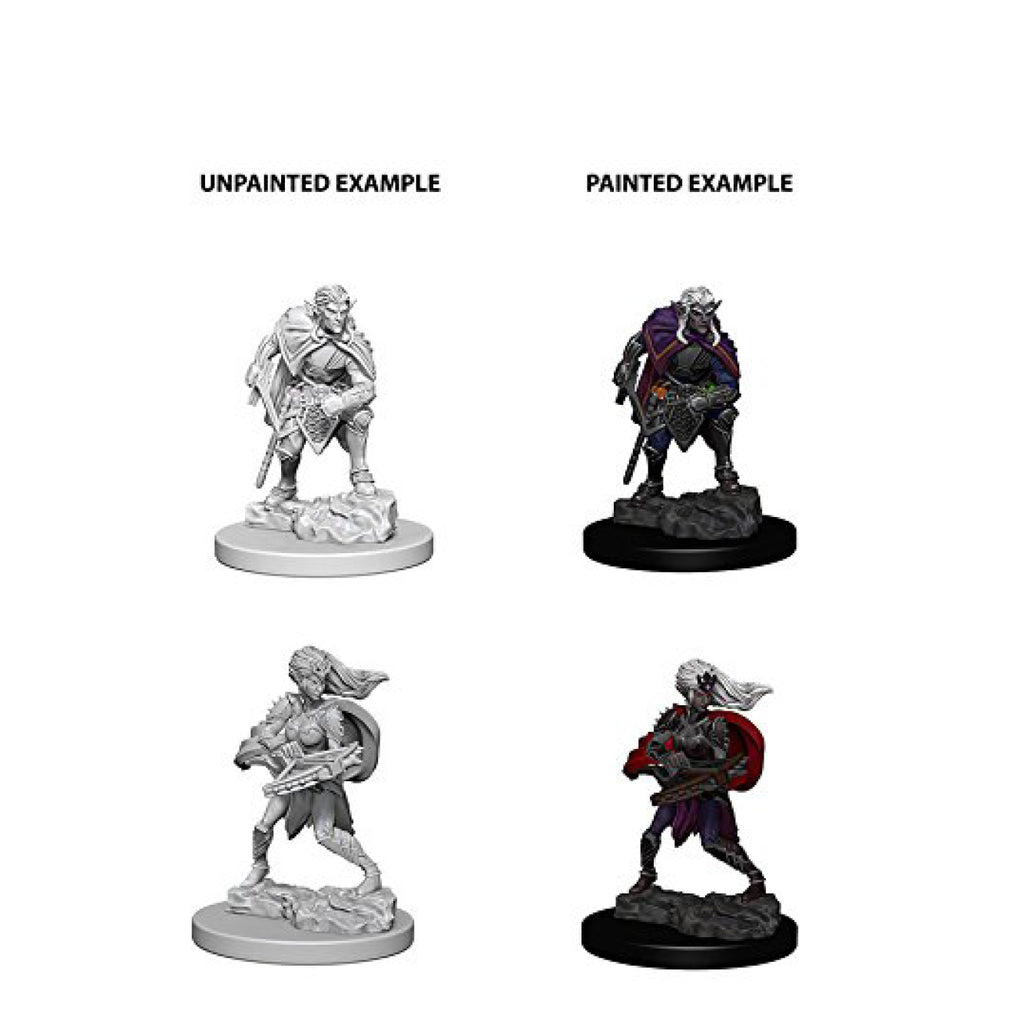 Dungeons And Dragons Unpainted Minis Drow
