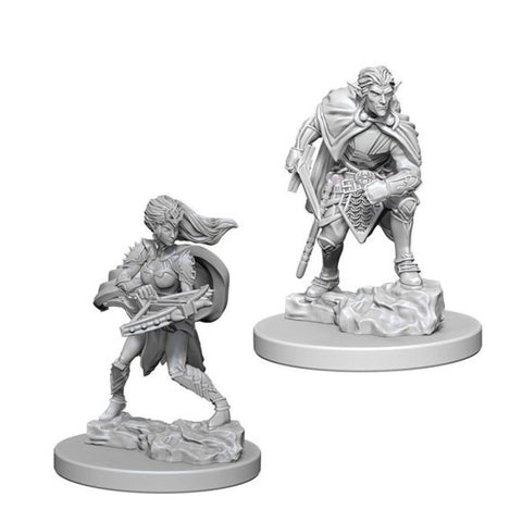 Image of Dungeons And Dragons Unpainted Minis Drow