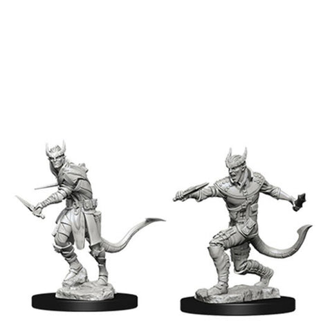 Image of Dungeons And Dragons Unpainted Minis Tiefling Male Rogue