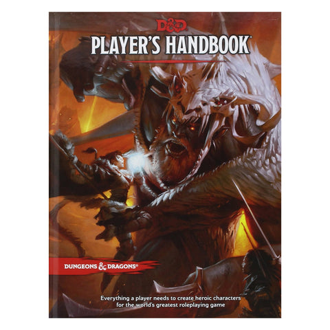 Dungeons And Dragons Players Handbook