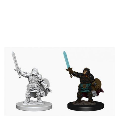 Image of Dungeons And Dragons Unpainted Minis Dwarf Female Paladin
