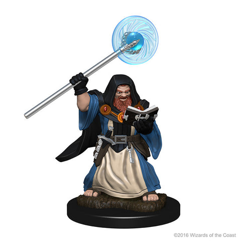 Image of Dungeons And Dragons Unpainted Minis Dwarf Male Wizard