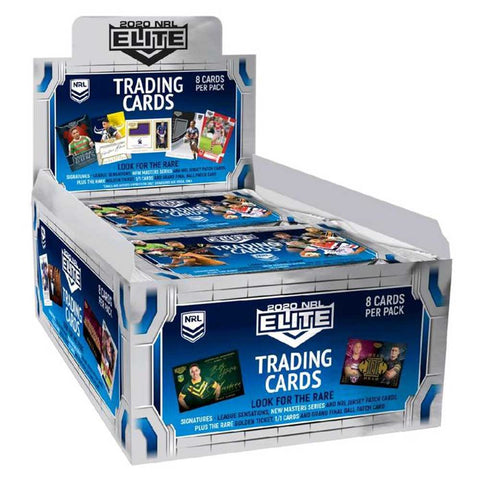 Rugby League - 2020 Elite Trading Card Display (36 Boosters)