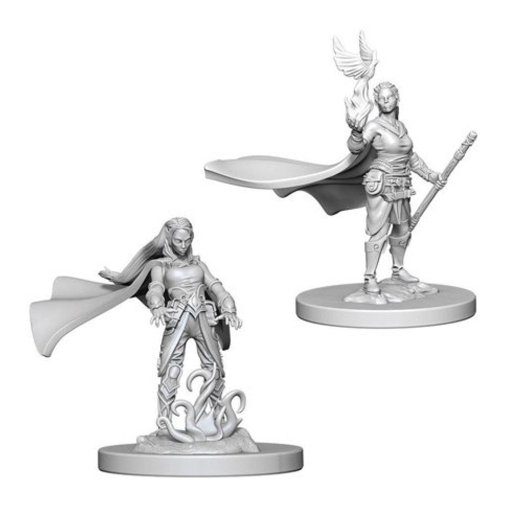 Dungeons And Dragons Unpainted Minis Elf Female Druid