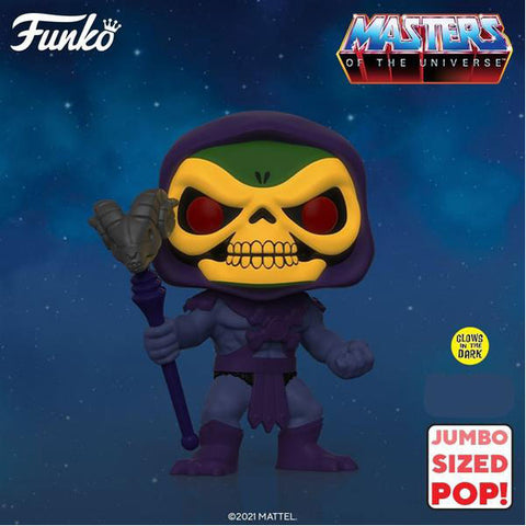 "Masters of the Universe - Skeletor Glow US Exclusive 10"" Pop! Vinyl"
