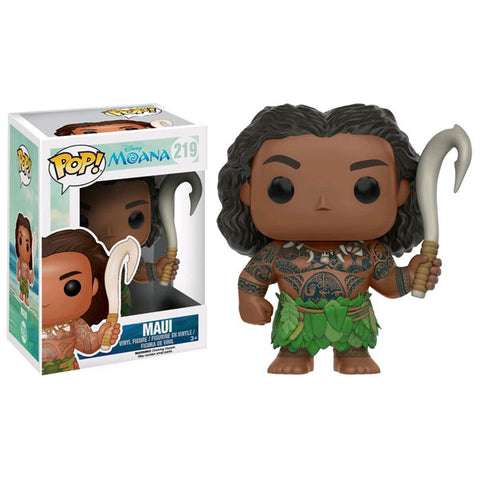 Moana - Maui with Weapon US Exclusive Pop! Vinyl