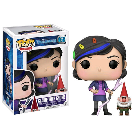 Trollhunters - Claire With Gnome Pop Vinyl