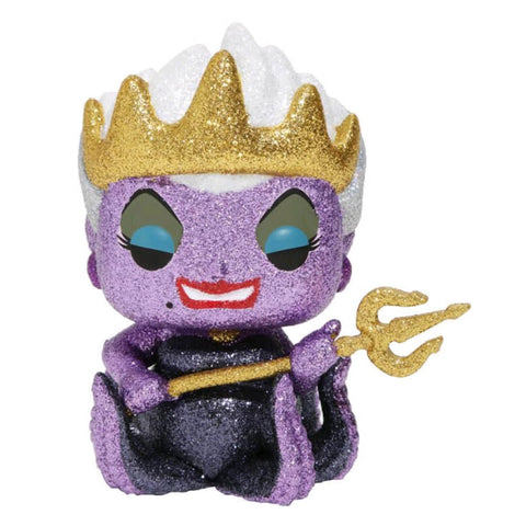 Little Mermaid Ursula Diamond Glitter Ex Pop Vinyl