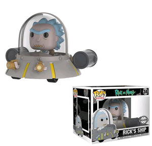 Rick And Morty - Ricks Ship US Exc Pop! Ride