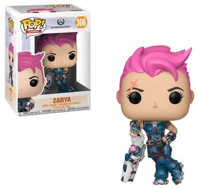 Overwatch - Zarya Pop Vinyl