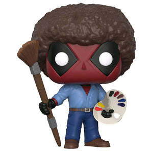 Deadpool - Playtime Bob Ross Pop Vinyl