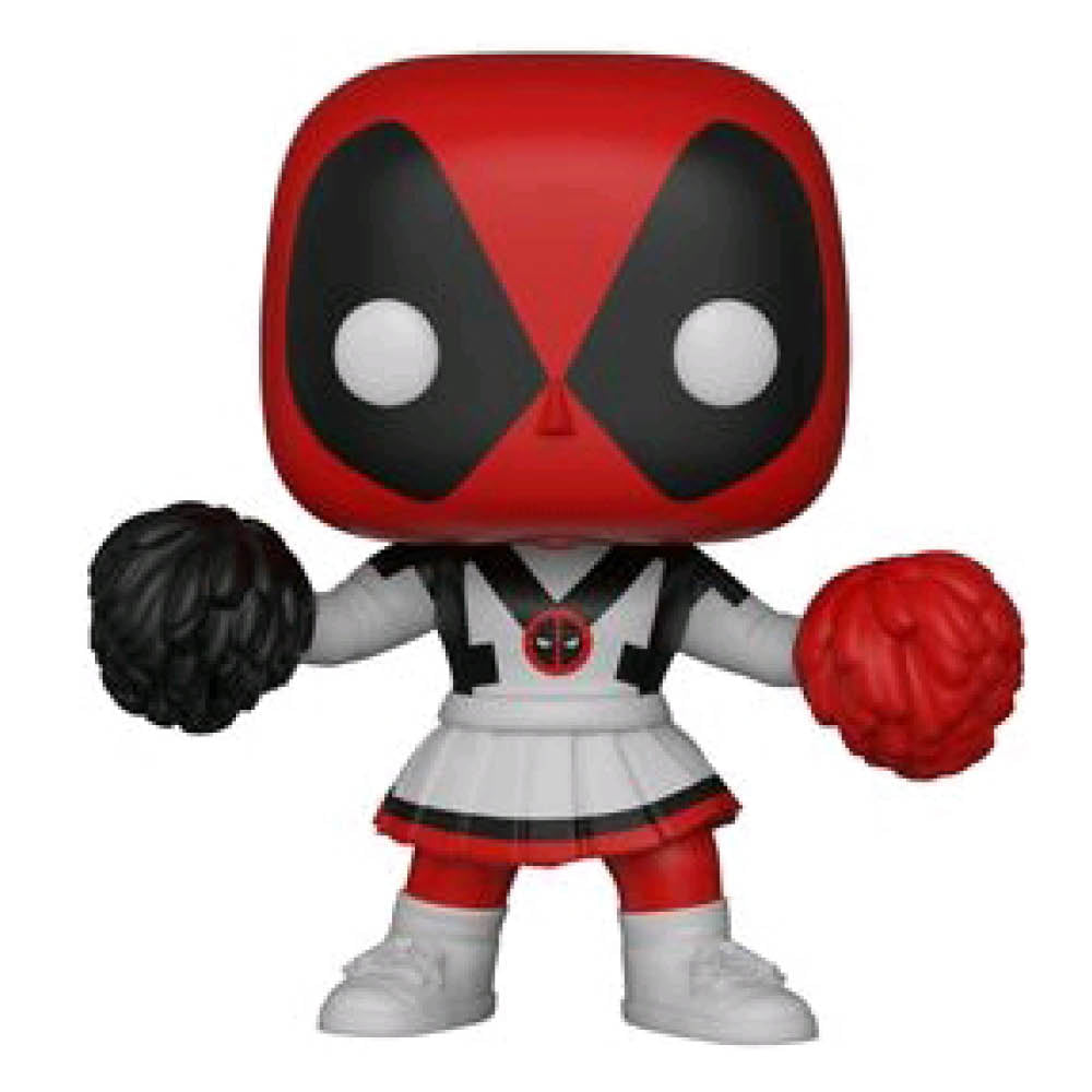 Deadpool - Playtime Cheerleader Pop Vinyl