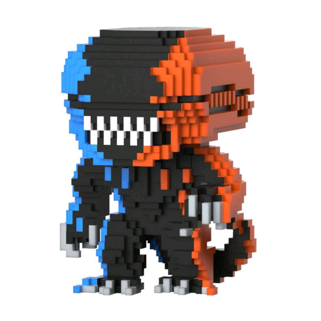 Alien - Xenomorph Orange And Blue 8-Bit US Exclusive Pop Vinyl