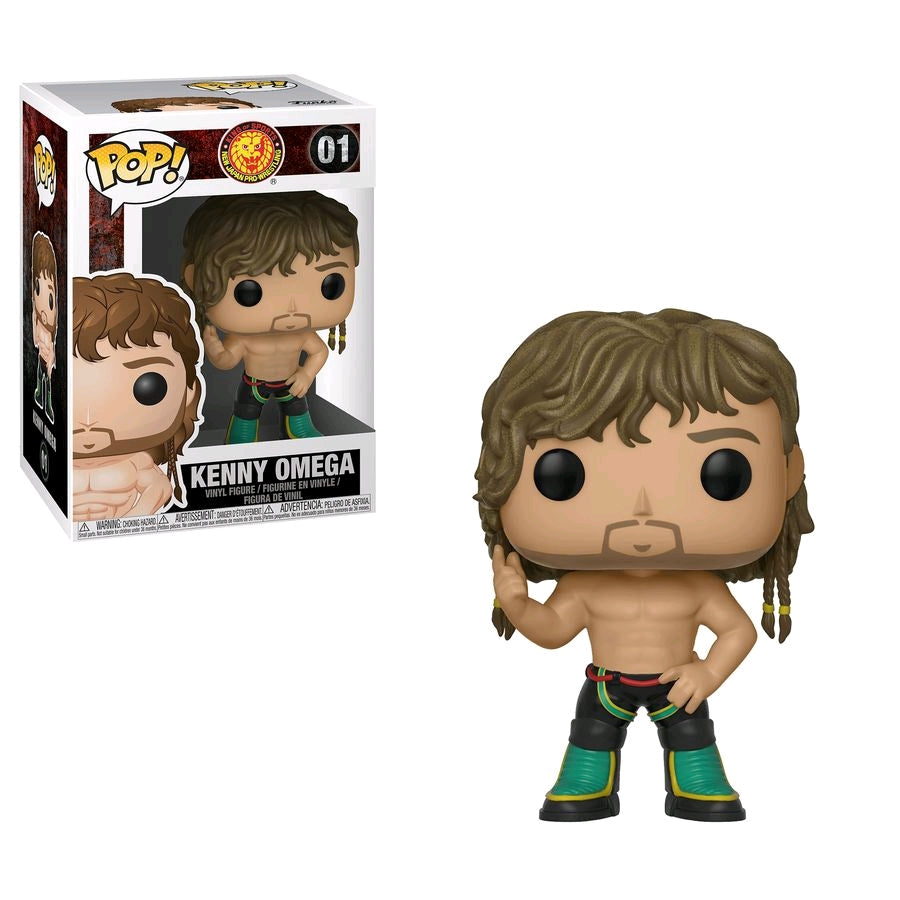 Bullet Club - Kenny Omega Pop Vinyl
