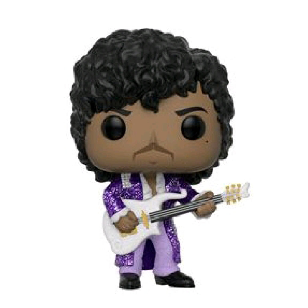 Prince - Purple Rain Diamond Glitter US Exclusive Pop Vinyl