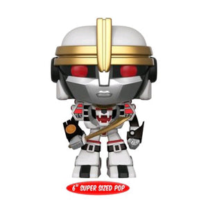 Power Rangers - White Tigerzord 6 inch US Exclusive 6 Inch Pop Vinyl