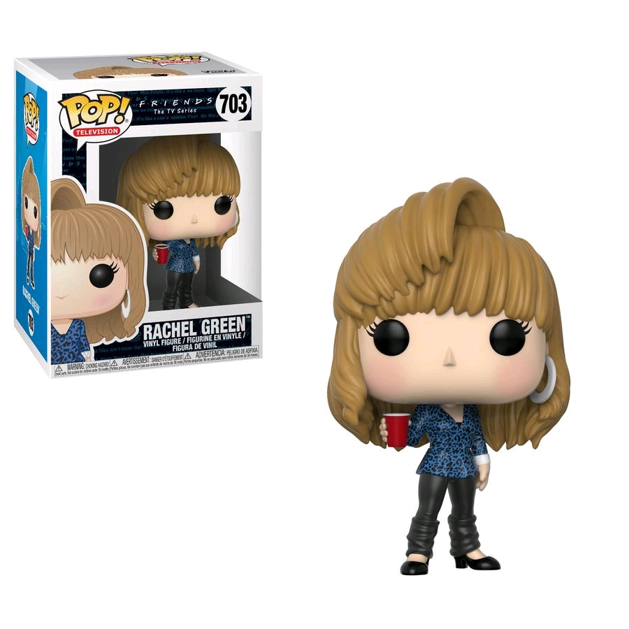Friends - Rachel Green 80s Hair Pop Vinyl