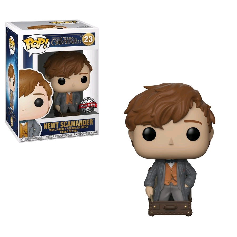 Fantastic Beasts 2 - Newt in Suitcase Ex Pop Vinyl