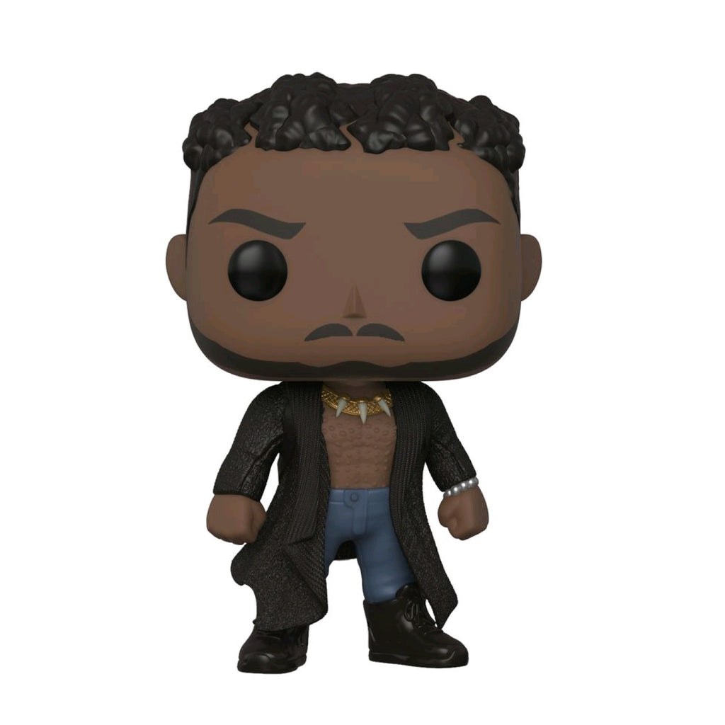 Black Panther - Erik Killmonger with Scars Pop Vinyl
