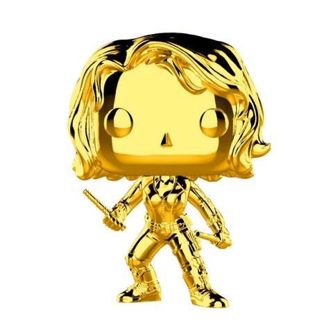 Marvel Studios 10th Anniversary - Black Widow Gold Chrome Pop Vinyl
