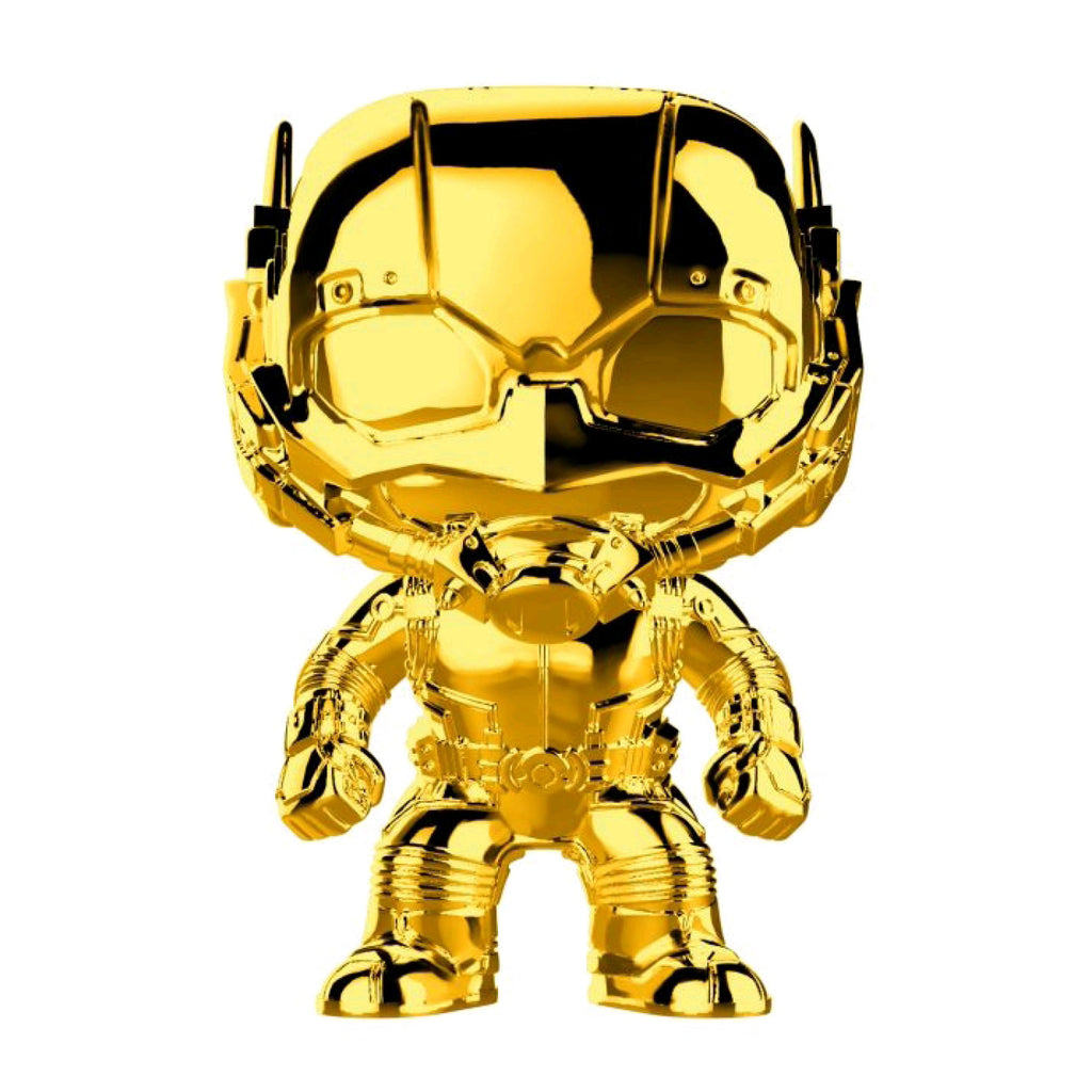 Marvel Studios 10th Anniversary - Ant-Man Gold Chrome Pop Vinyl