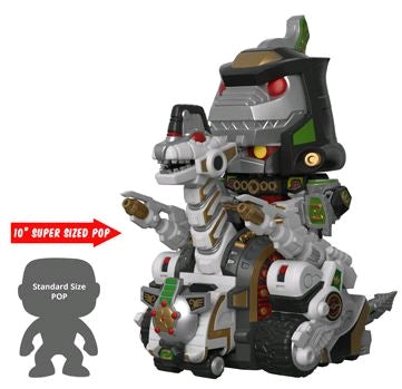 Power Rangers Dino Ultrazord 10 inch Pop