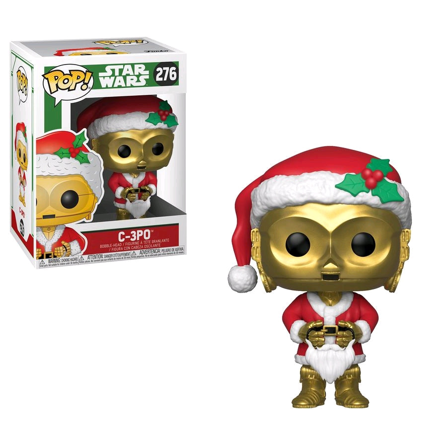Star Wars - C-3PO as Santa Pop Vinyl
