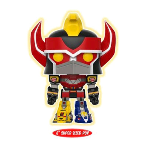 Power Rangers - Megazord Glow US Exclusive 6 Inch Pop Vinyl