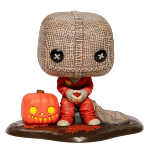 Trick R Treat - Sam with Pumpkin & Sack US Exclusive Pop! Deluxe [RS]